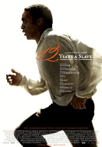 12 Years a Slave Poster - copyright Ascot Elite Entertainment Group