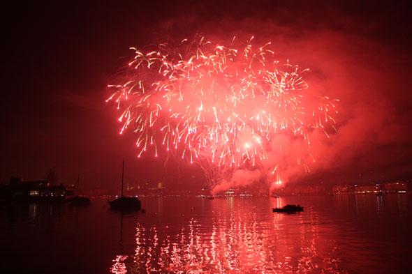 2012 Zurich Fireworks