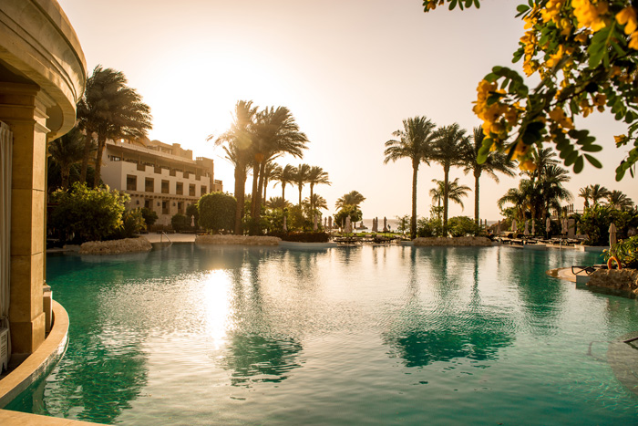 A pool of the Makadi Spa Hotel - copyright ETI