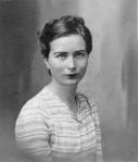 A portrait of Hélène de Beauvoir - Source - Galerie Hammer, Regensburg