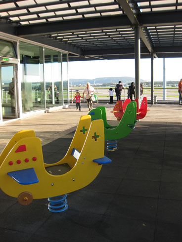 Playground at the Zurich airport