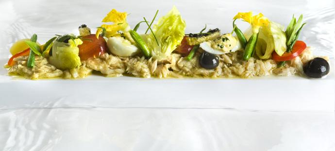 Albacore recipe from Eric Ripert restaurant Le Bernardin credit  Shimon & Tammar Photography