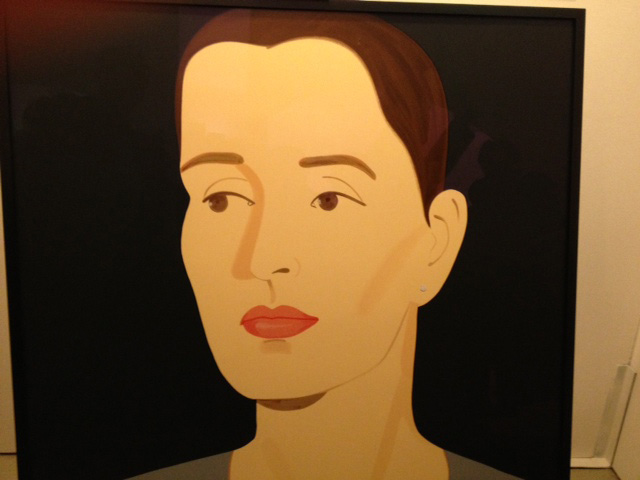 Alex Katz, flatface,ArtMuc - copyright Sonia Böning, Munich