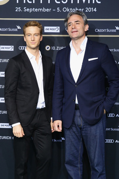 Alexander Fehling (left) and director Giulio Ricciarelli at the ZFF for the The Labyrinth of Lies - copyright ZFF
