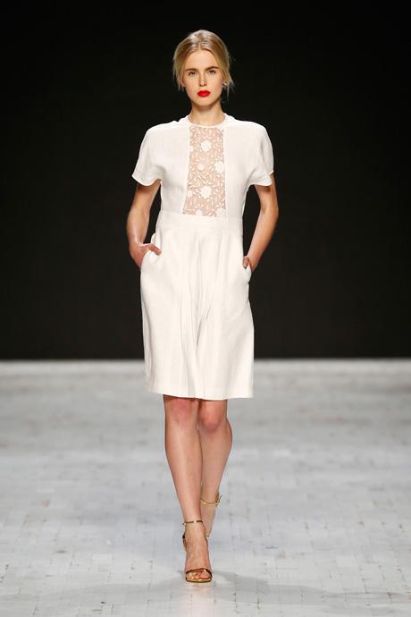 Aziza Zina Runway - Mercedes-Benz Fashion Days Zurich 2013