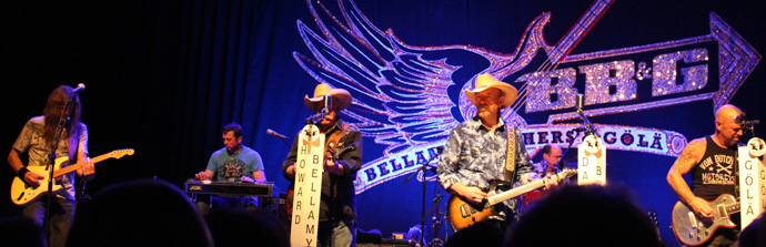 Bellamy Brothers and Göla at the Zurich Volkshaus- credit photo Veronique GRAY