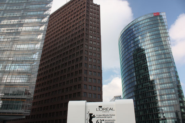 Berlin Potsdamer Platz buildings