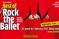 Rock the Ballet at the Maag Halle: 20% for our readers