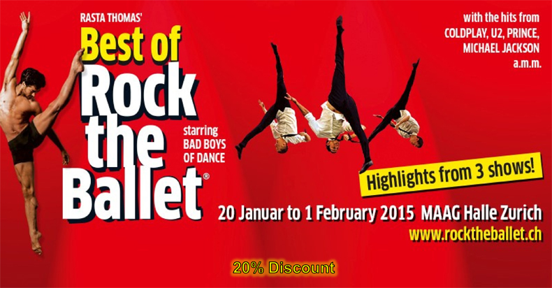 Rock the Ballet Poster - credit Rock the Ballet