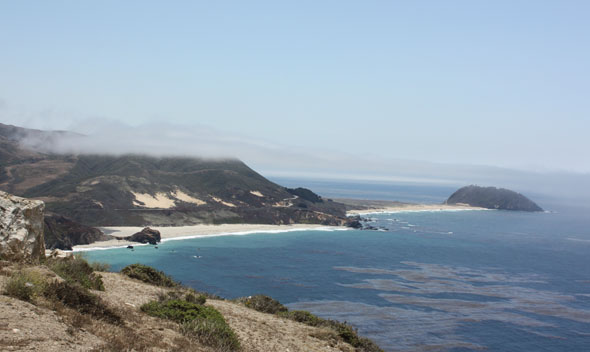 Big Sur coast in California (USA)