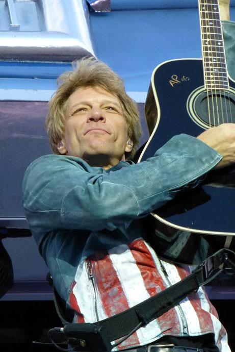 Jon Bon Jovi in Munich - copyright Marcus Ponath