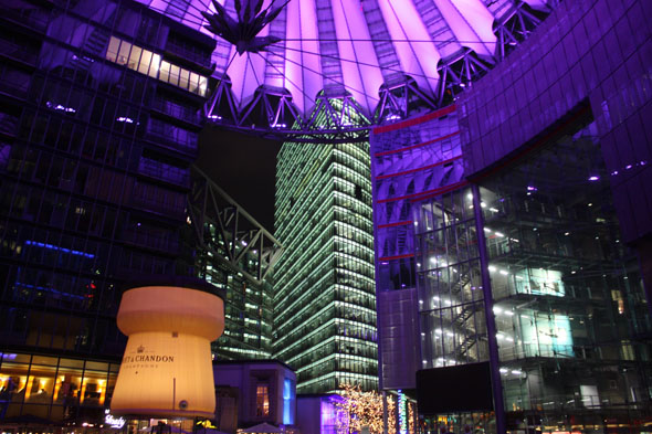 Buildings at the Sony Center, Potsdamer Platz Berlin