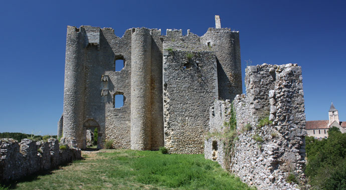Castle of Angles sur l' Anglin