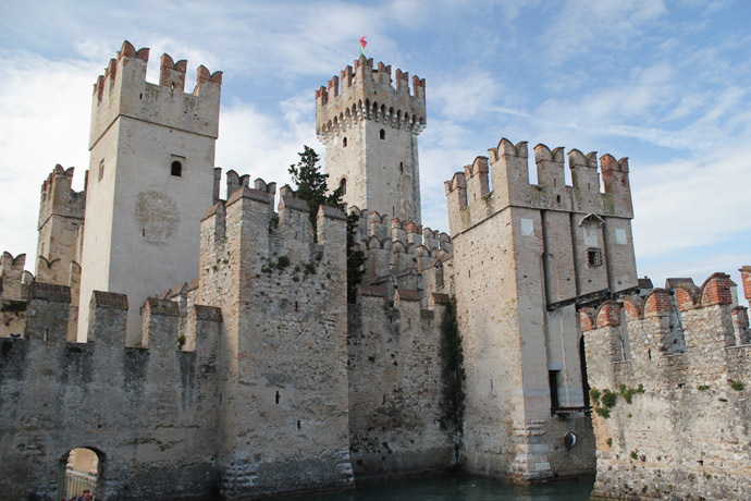 Castle of Sirmione, Italy (on the lake of Garda)