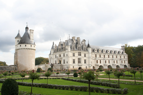 Catherine of Medicis' garden, Chenonceau