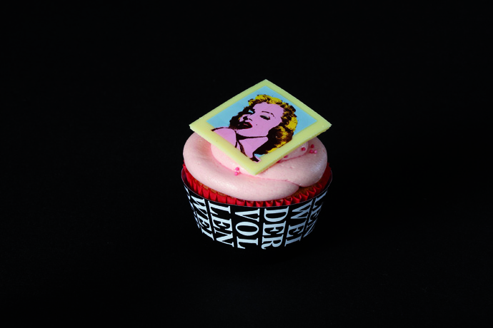 Cupcake Hollywood - copyright VOLLENWEIDER CHOCOLATIER CONFISEUR