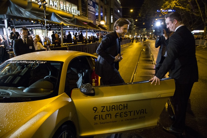 Daniel Bruel arrives for the opening ceremony of the Zurich Film Festival - copyright ZFF