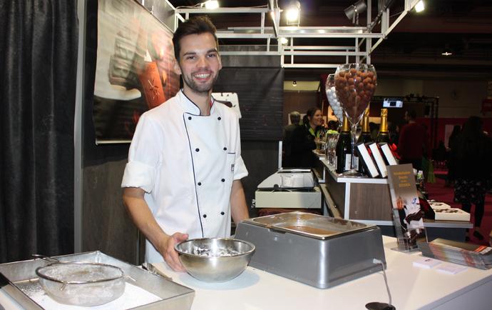 Daniel Meier at the Salon du Chocolat - copyright Veronique Gray