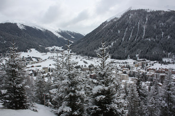 Davos, taken from the Thomas Mann Weg