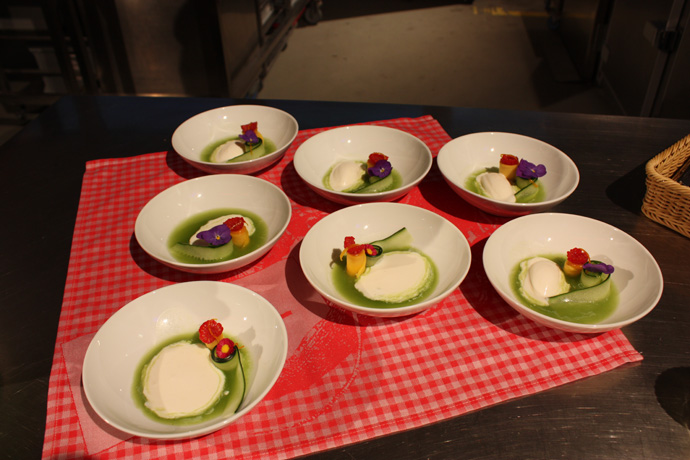 Dessert from Thomas KAPPIS, Gate Gourmet - opening of IL Tavolo - copyright Veronique Gray