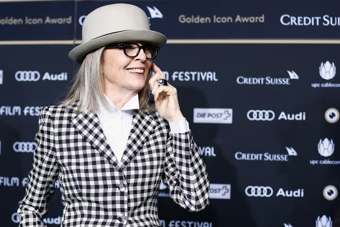 Diane Keaton in Zurich - copyright ZFF