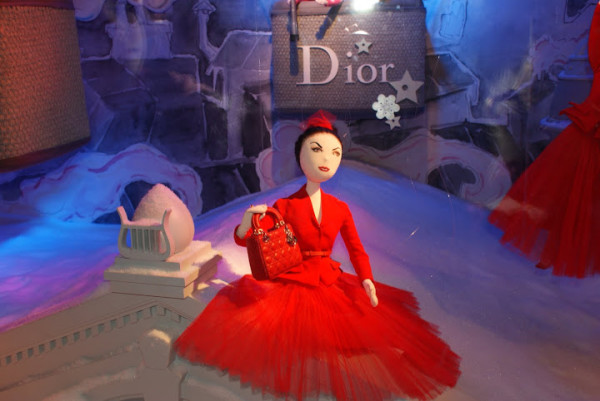 Dior for Christmas in Paris