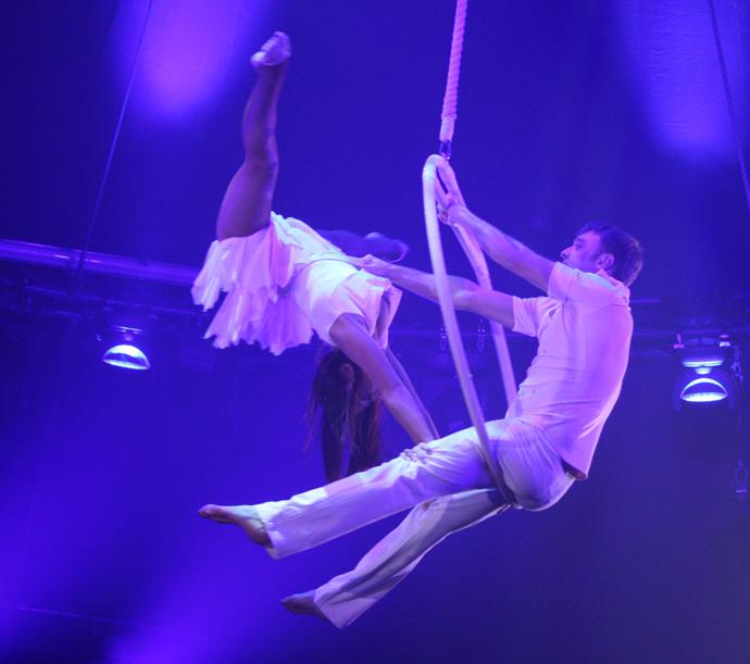 Duo Grigorov at the circus Conelli - copyright Véronique Gray