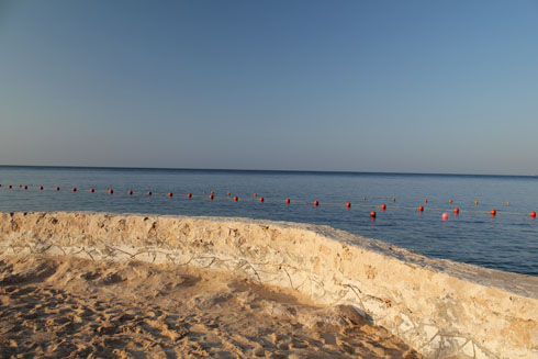 Early morning on Naama Bay in Egypt