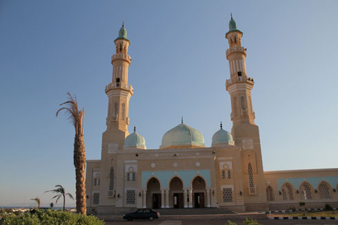 El Tur mosque - capital of the Sinai