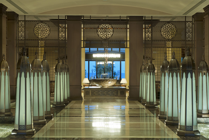 Entrance of the Makadi Spa Hotel - copyright ETI
