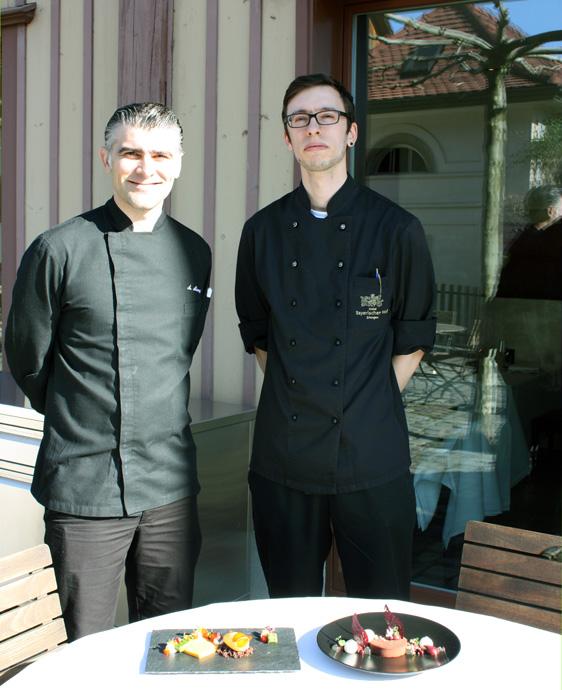 Felix Oeder and Antonino Alampi at Il Casale - credit photo Veronique Gray