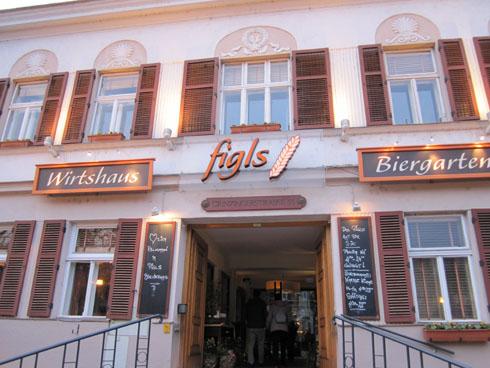 Figls restaurant in Griessing in Vienna