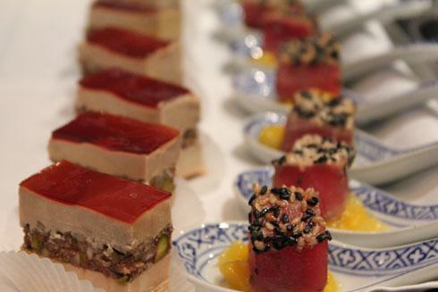 Fish & Foie Gras for Apero