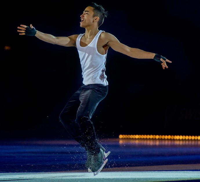 Florent Amodio - copyright Art on Ice