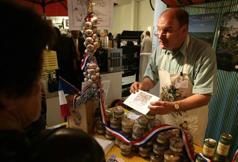 Foie Gras stand at Gourmesse - copyright Gourmesse Salz & Pfeffer