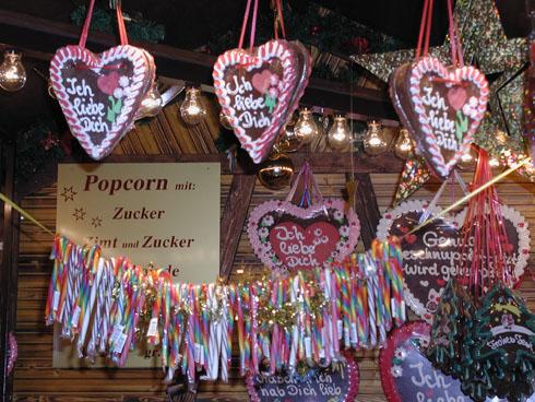 Lebkuchen at a Christmas market in Frankfurt