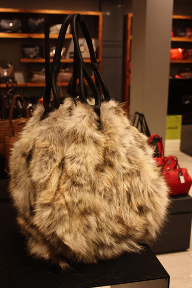 Fur Bag - Harricana par Mariouche