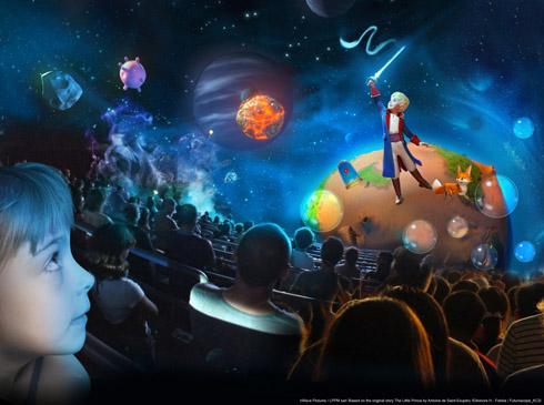 copyright Futuroscope - Le Petit Prince