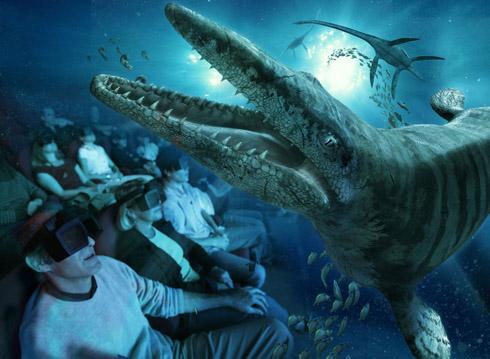 copyright Futuroscope - Monstres des mers