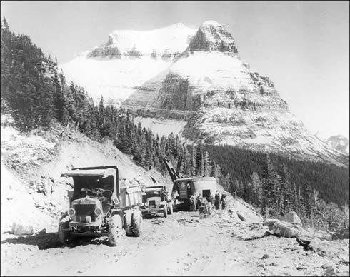 Going to the Sun Road 1932-NPS