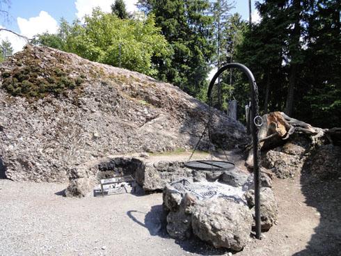 Goldau park - area Steinbock