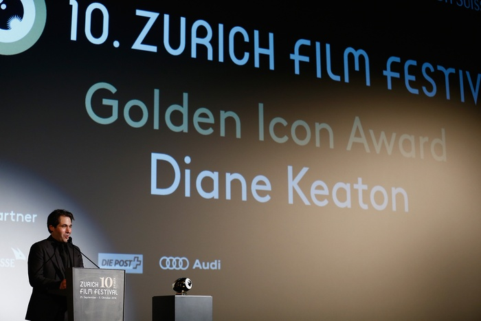 Golden Icon Award for Diane Keaton - copyright ZFF