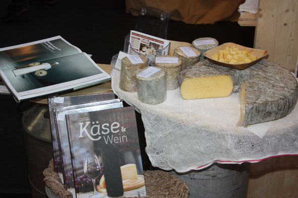 Gourmesse 2012 Jersey cheese of Willi Schmid