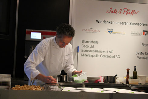 Gourmesse Monday cooking show with Arno Sgier