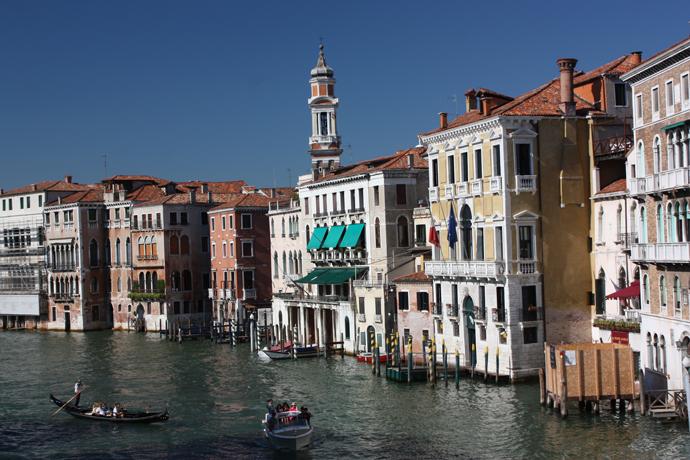 Grand Canal from the Rialto Bridge, Venice