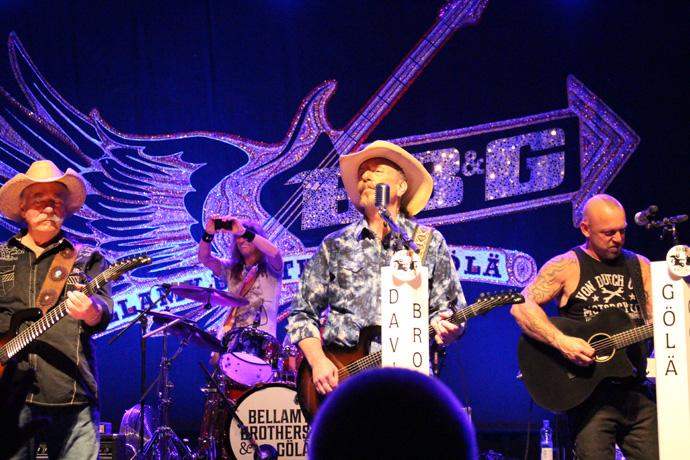 Great concert of the Bellamy Brothers and Göla at the Zurich Volkshaus- credit photo Veronique Gray