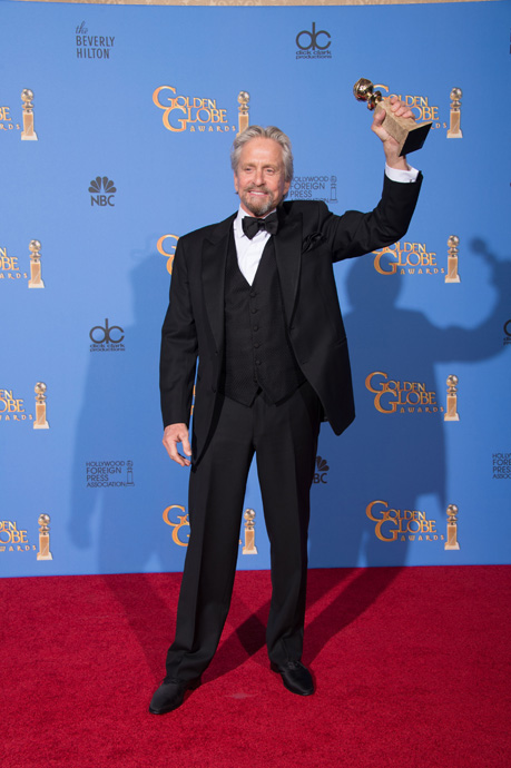 Michael Douglas at the 71st Golden Globes-Golden-Globe®-Awards-images