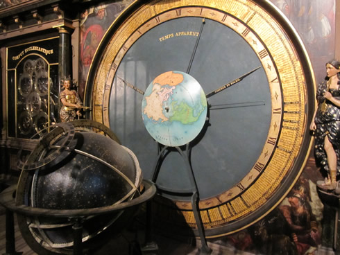 the astronomical clock at the Strasbourg cathedral
