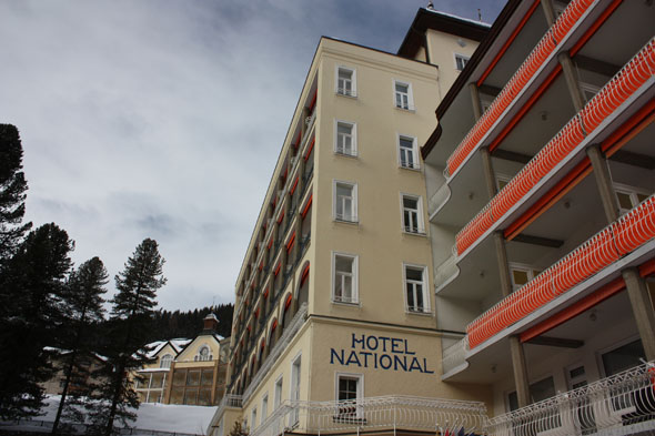 Hotel National, Davos