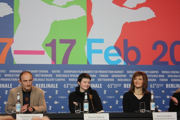 Martina Gedeck, Pauline Etienne and Guillaume Nicloux